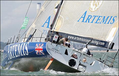 Open 60 Sailboat