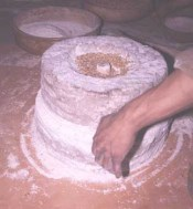 Quern For Grinding Wheat