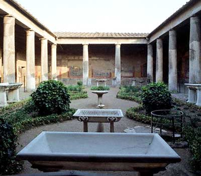 Pompeii House, as it is today