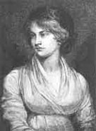 Engraving of Mary Wollestonecraft