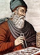 Engraving of Archimedes