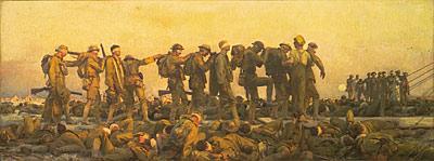 'Gassed' by John Singer Sargent