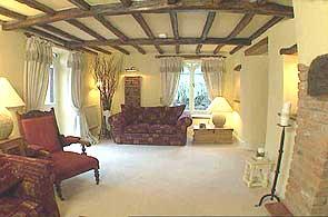 BBC Homes Design Inspiration Cream Country Cottage Living Room