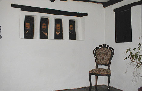 John Wall's room