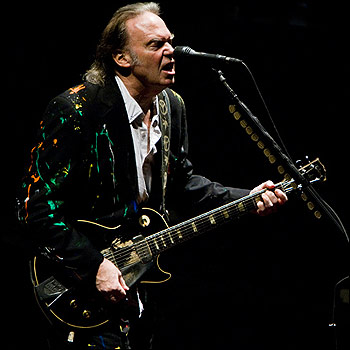 Neil Young at the Apollo - 11/03/08 (c) Ben Page