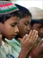 Rohingya men