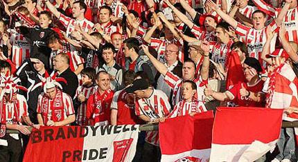 Derry City fans