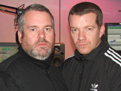 Max Beesley on the Chris Moyles show