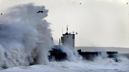 Storm Hits UK