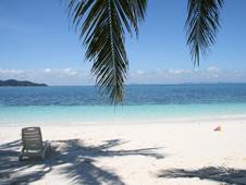 Beach on Rawa Island, Malaysia