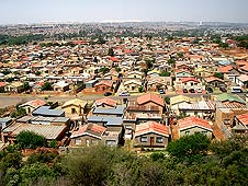 Soweto township in Johannesburg, South Africa