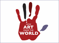 How Art Made the World logo
