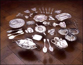 Thirty Pieces of Silver (Exhaled) Sugar Bowl