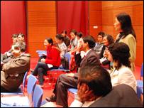 Các đại biểu thảo luận ở Hội thảo Việt Nam học 2008 tại Hà Nội