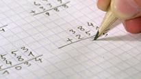 Maths workbook © 'Andrzej Tokarski - Fotolia.com'