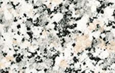 Granite has interlocking grains