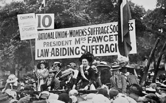 Women's rights, suffragettes