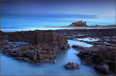 Bamburgh from the BBC