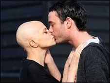 Jade Goody com o marido, Jack Tweed