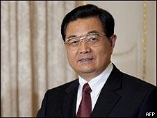 El presidente chino, Hu Jintao