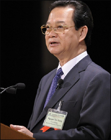Thủ tướng VN Nguyễn Tấn Dũng (ảnh tư liệu)