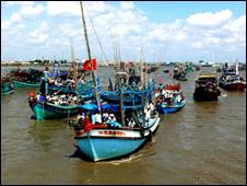 Tàu cá Việt Nam - ảnh minh họa