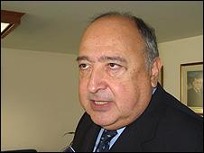José Rivera Banuet.