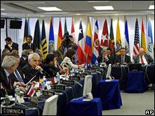 Asamblea General Extraordinaria de la OEA.