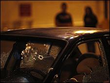 Ataque en Tijuana, México en julio 2009. Foto de archivo.