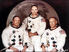 Tripulantes del Apolo 11