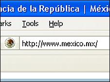 Sitio web mexico.mx