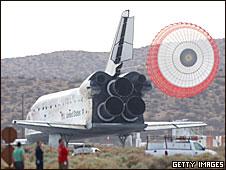 Trasbordador Discovery de la NASA