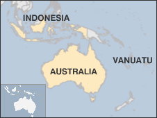 Mapa Pacífico Sur