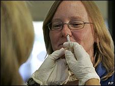 Vacuna gripe porcina en forme de spray