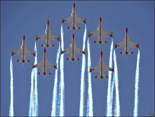 Aviones Águilas Negras de Seúl