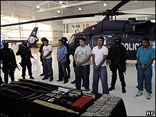 Integrantes de La Familia Michoacana