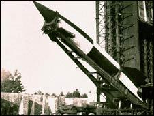 El cohete V2