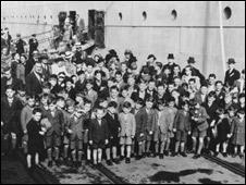 أطفال مهاجرون إلى استراليا عام 1947