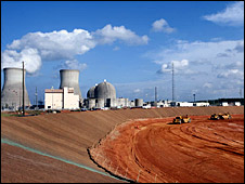 Công trường xây nhà máy điện hạt nhân, ảnh minh họa