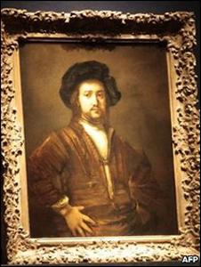 لوحة الفنان الهولندي رامبرانت