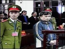 Ông Trần Anh Kim tại tòa