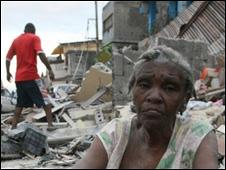 آثار الدمار في هايتي