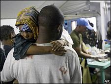 Hospital en Haití