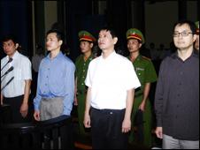 Phiên tòa xử vụ án 'lật đổ chế độ' ngày 20/1/2010