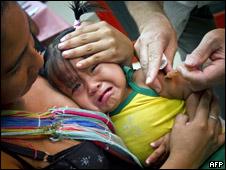 Campaña de vacunación contra la gripe porcina en Guayana Francesa