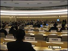 Phiên họp của Hội đồng Nhân quyền LHQ tại Geneve tháng 5/2009