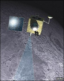 La sonda india Chandrayaan-1
