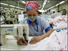Dệt may là ngành đối diện với nguy cơ bị kiện chống phá giá năm nay