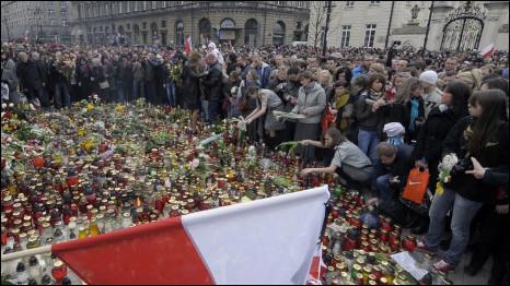 Suasana di Warsawa, Lech Kaczynski