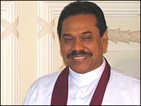 இலங்கை ஜனாதிபதி மஹிந்த ராஜபக்ஷ